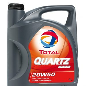 TOTAL 20W/50 QUARTZ 7000 4 LITROS
